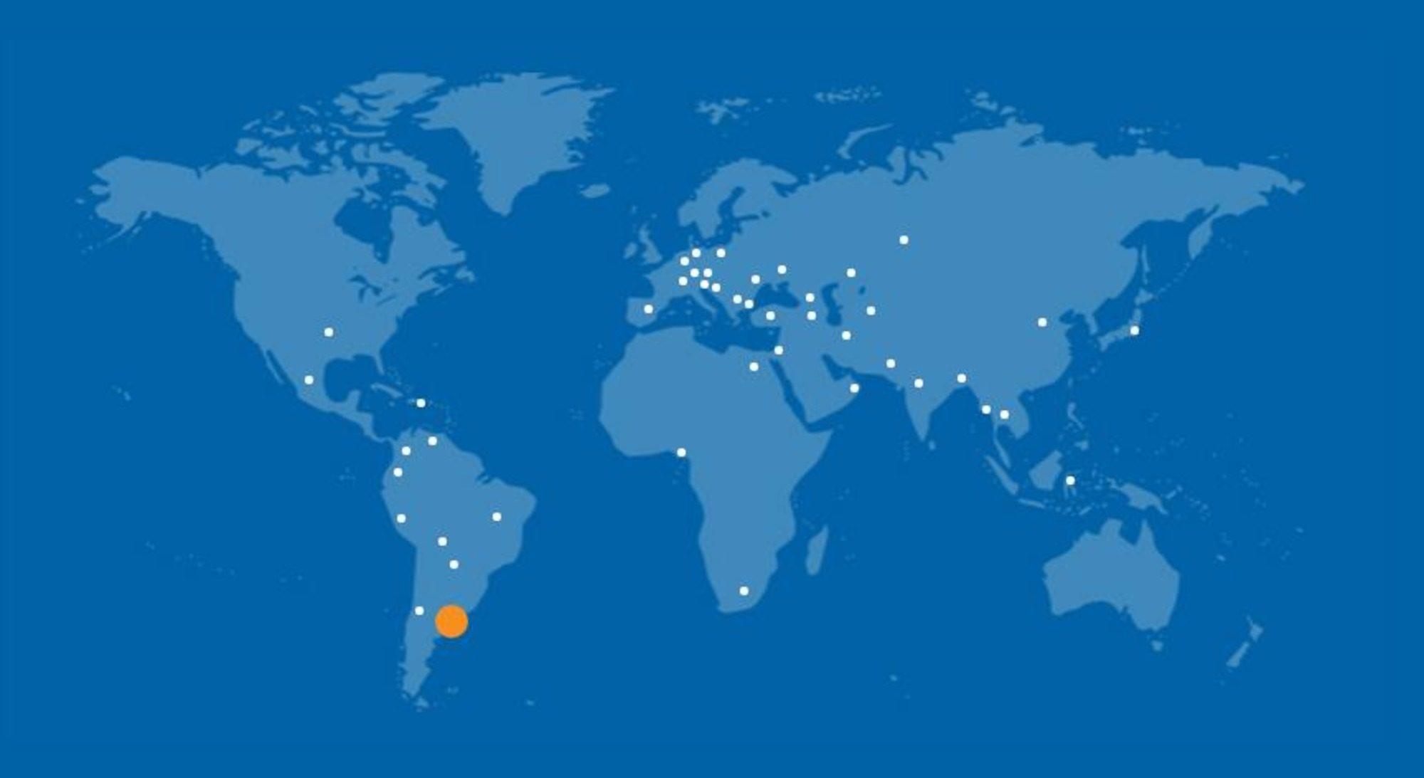 Мировая сеть ASPRO