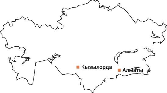 Сеть АГНКС, оборудование для АГНКС, АГНКС в Казахстане, карта АГНКС