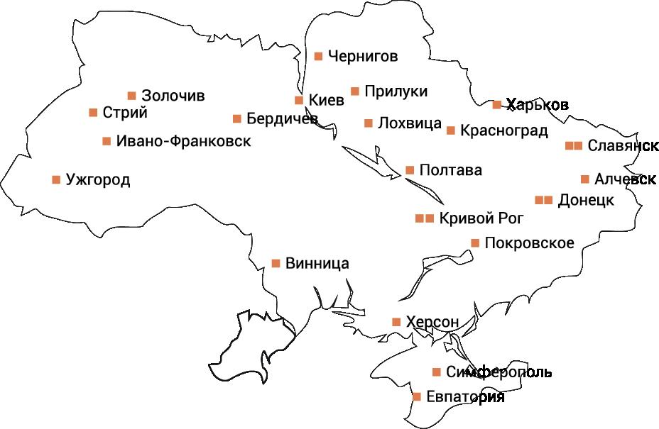 Сеть АГНКС на базе оборудования Delta Compresion в Украине