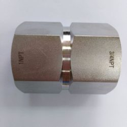 1″ NPTF x 3/4″ NPT Reduction coupling