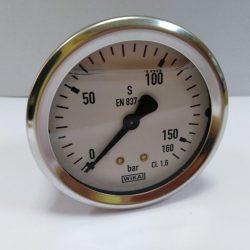 Pressure gauge 213.53.063 (0...160 bar)