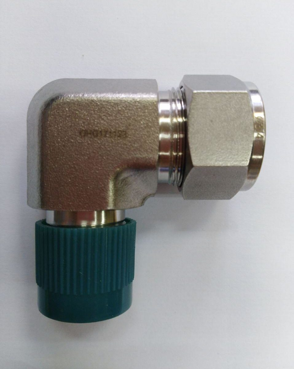 "3/4"" NPT x 3/4"" OD Elbow Connector"