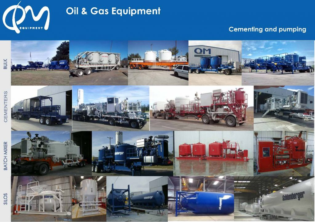 Bulk mixing equipment