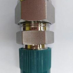 "1/2"" NPTM x 3/4"" tube straight connector"