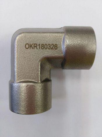 """1/2"""" NPTF x 1/2"""" NPTF Elbow connector"""
